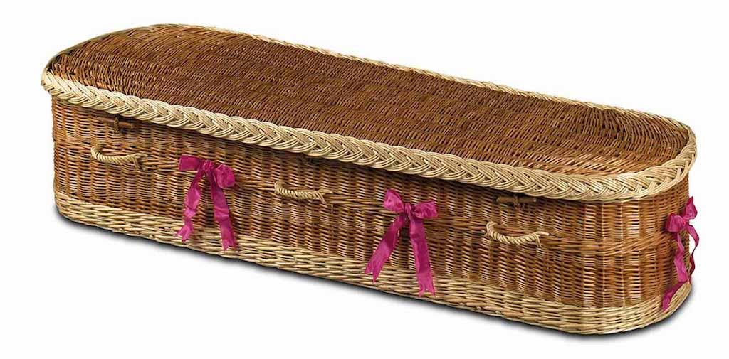 Somerton Wicker Coffin